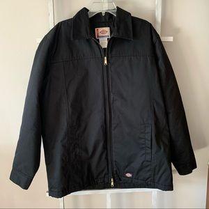 Dickies black insulated utility jacket size large